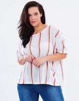 Junarose Stripe Knit Pullover