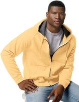 Hanes Men's Nano Full-Zip Blended Hooded Fleece