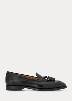 Ralph Lauren Luther Tassel Calfskin Loafer