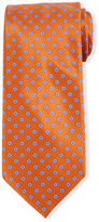 Stefano Ricci Neat Floral-Patterned Silk Tie