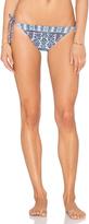 Nanette Lepore Paros Paisley Vamp Bikini Bottom