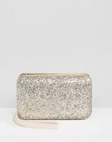 Carvela Glitter Box Clutch