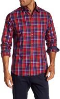 Stone Rose Fil Coupe Plaid Regular Fit Shirt