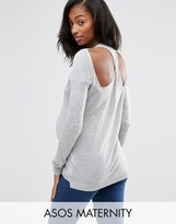 Asos Jumper With Twist Back