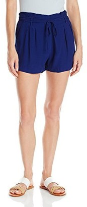 Greylin Women's Lene Double Tie Viscose Crepe Short