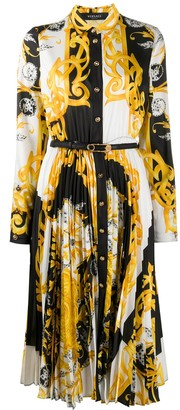 Versace Belted Shirt Dress