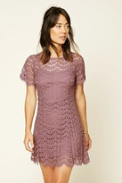 Forever 21 Contemporary Crochet Lace Dress