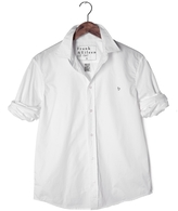 Frank And Eileen Mens Paul Poplin Shirt With Gray Heart