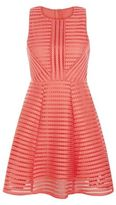 AX Paris Coral Ladder Skater Dress