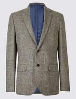 Pure Wool Barleycorn Jacket