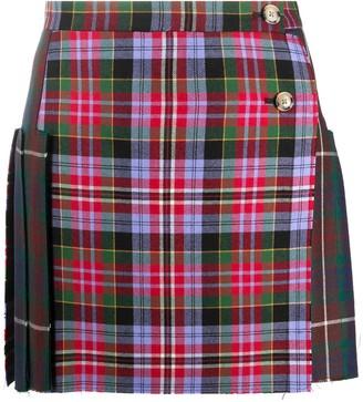 Vivienne Westwood Tartan Print Mini Skirt