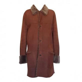 Prada Brown Shearling Coats
