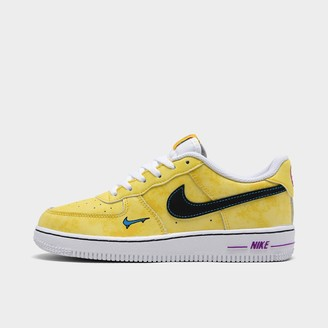 Black And Yellow Basketball Shoes