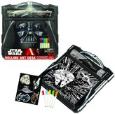 Star Wars Darth Vader Rolling Art Desk Playset