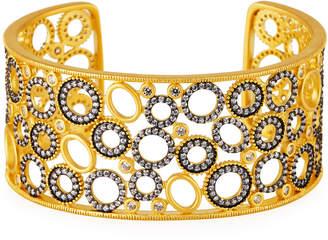 Freida Rothman Multi-Ring Split Cuff Bracelet