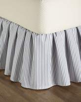 French Laundry Home King Ticking-Stripe Dust Skirt