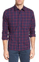 Nordstrom Men's Workwear Trim Fit Check Sport Shirt
