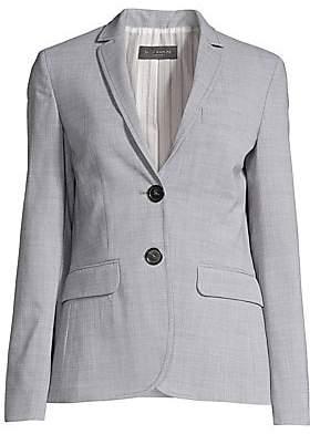 Piazza Sempione Women's Wool-Blend Blazer Jacket