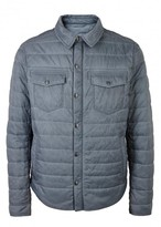 Boss Owilder Grey Quilted Shell Jacket