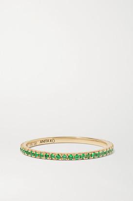 Anita Ko 18-karat Gold Emerald Ring - 7