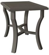 Banchetto Metal Bar Table Tropitone Frame Color: Graphite