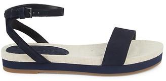 Splendid Myra Suede Flat Ankle-Strap Sandals