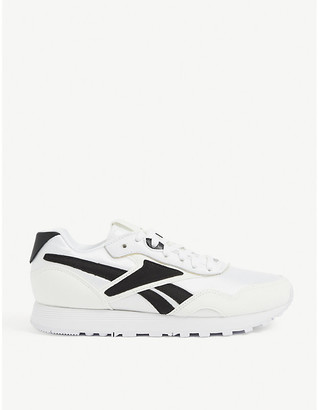 Reebok x Victoria Beckham Rapide panelled faux-suede trainers