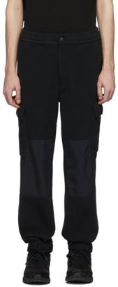 The Very Warm Black Fleece Cargo Pants