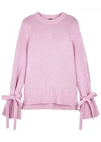 ADAM by Adam Lippes Pink Wool And Cashmere Blend Jumper