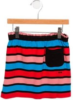 Sonia Rykiel Girls' Striped A-Line Skirt