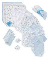 SpaSilk Size 0-6M 23-Piece Baby Layette Gift Set in Blue