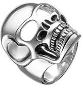Thomas Sabo Rebel at Heart Skull Design 925 Sterling Silver Men's Ring Size L 1/2 – TR1704 Charm 12 – 52