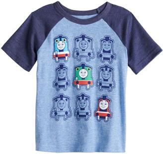 Toddler Boy Jumping Beans Thomas The Train Raglan Graphic Tee