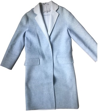 Vanessa Bruno Grey Wool Coat for Women