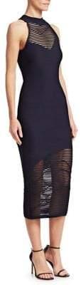 Cushnie et Ochs Sleeveless Knit Midi Dress