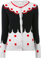 Chinti and Parker cashmere spotted cardigan - women - Cashmere - S