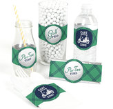 Etsy Golf Party Favor Wrappers - Par-Tee Time - Golf Birthday or Retirement Party Wrappers- Set of 15