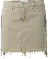 Sandrine Rose - denim mini skirt - women - Cotton - 26