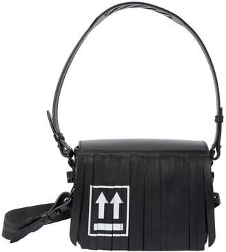 Off-White Off White Flap fringed shoulder bag