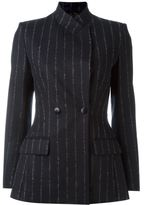 Cédric Charlier pinstriped double breasted blazer