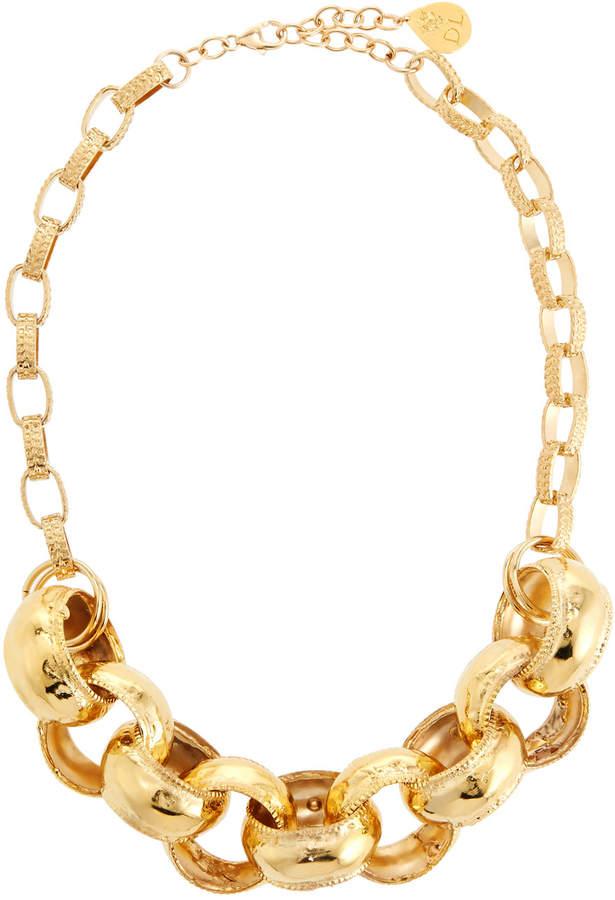 Devon Leigh Thick Link Chain Necklace