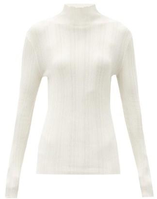Totême Narano High-neck Ribbed Sweater - Ivory