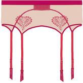Mimi Holliday Wild Strawberry Wide Suspender