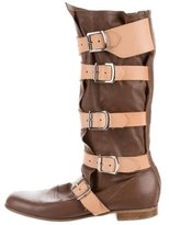 Vivienne Westwood Pirate Leather Boots