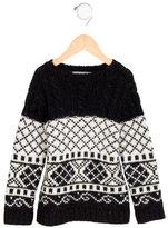 Bonpoint Boys' Patterned Long Sleeve Sweater