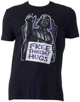 Mighty Fine Star Wars Darth Vader Free Throat Hugs Men's Shirt