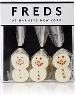 FREDS at Barneys New York Marshmallow Snowman Hot Chocolate Dunkers