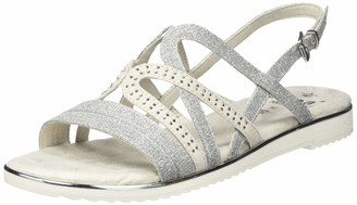 Jana 100% comfort Women's 8-8-28114-24 Ankle Strap Sandals
