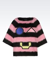 Emporio Armani Runway Sweater In Mohair