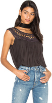 Free People Feel Free Top in Black. - size S (also in XS)